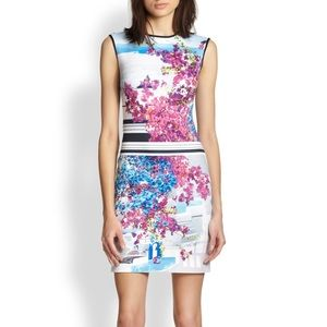 Clover Canyon Santorini Printed Neoprene Dress